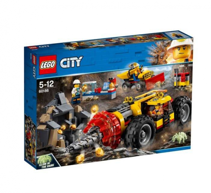 LEGO® City Mining Foreza de minerit de mare putere 60186 0