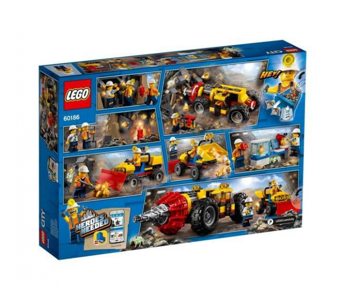 LEGO® City Mining Foreza de minerit de mare putere 60186 6