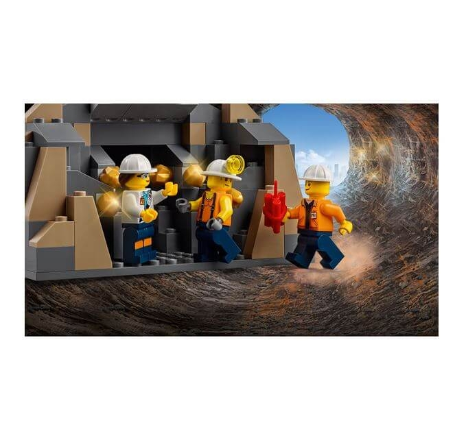 LEGO® City Mining Foreza de minerit de mare putere 60186 2