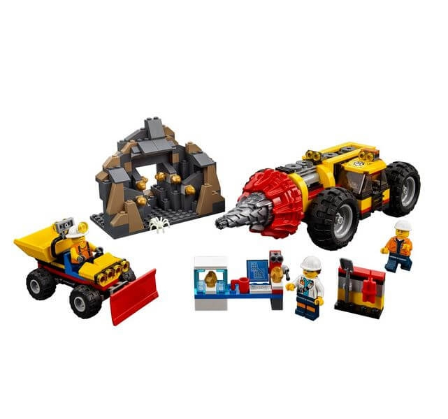 LEGO® City Mining Foreza de minerit de mare putere 60186 5