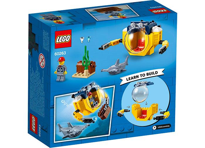 LEGO City - Minisubmarin oceanic 60263, 41 piese [1]