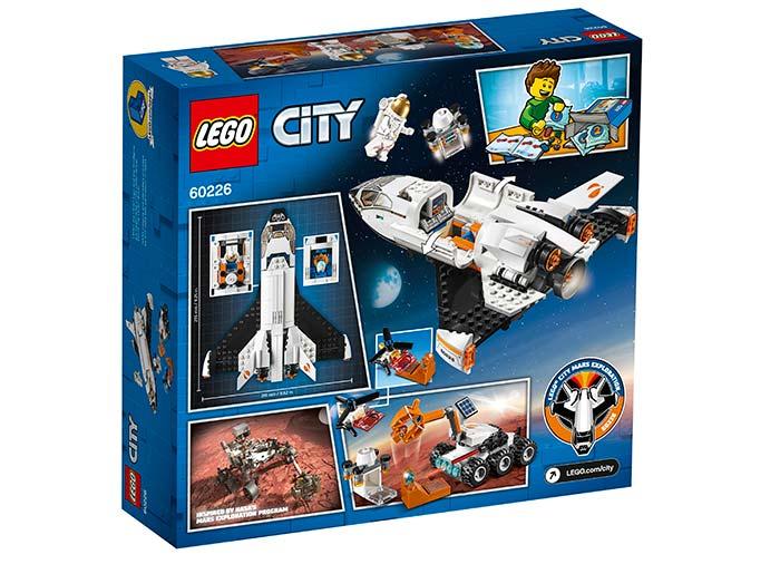 LEGO® City : Naveta de cercetare a planetei Marte 60226 [1]