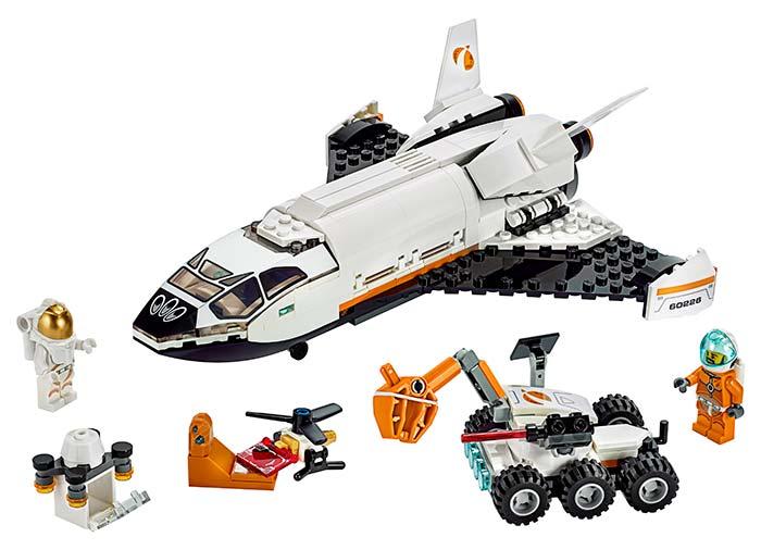 LEGO® City : Naveta de cercetare a planetei Marte 60226 [0]