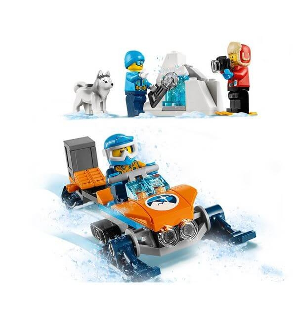 LEGO® City  Planor arctic 60190 4