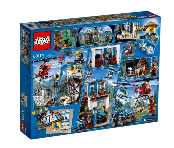 LEGO® City Police Cartierul general al politiei montane 60174 1