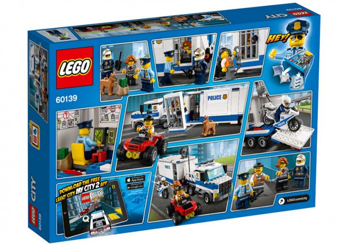 LEGO® City Police Centru de comanda mobil 60139 1
