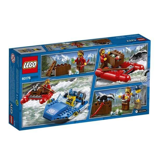 LEGO® City Police Evadare pe rau 60176 3