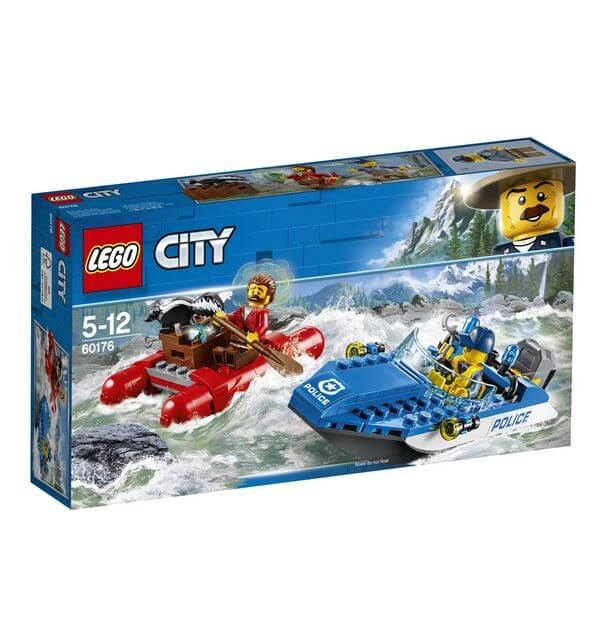 LEGO® City Police Evadare pe rau 60176 0