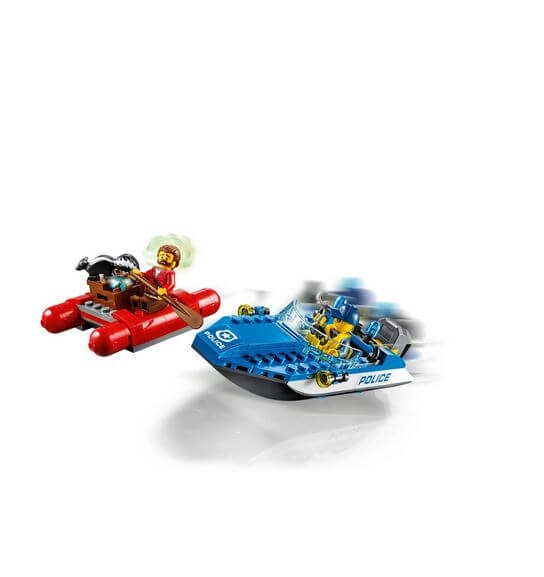 LEGO® City Police Evadare pe rau 60176 2