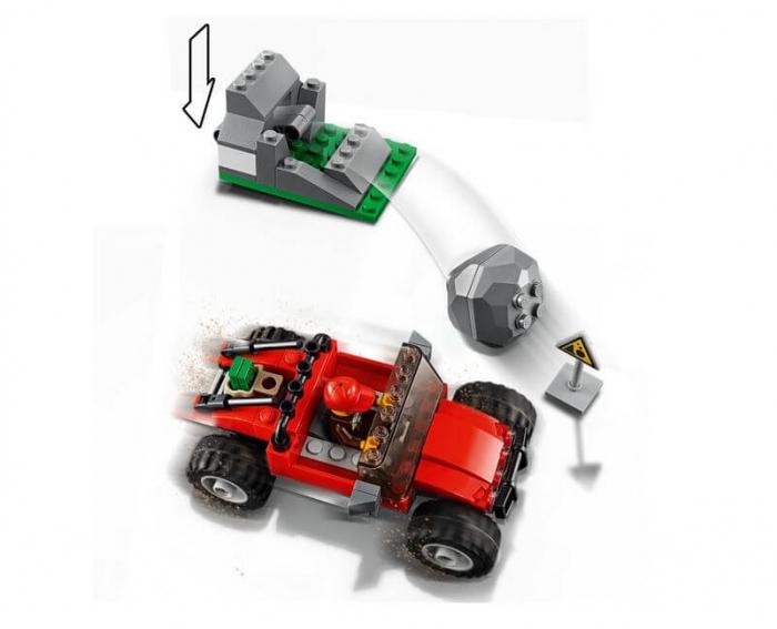 LEGO® City Police Goana pe teren accidentat 60172 5
