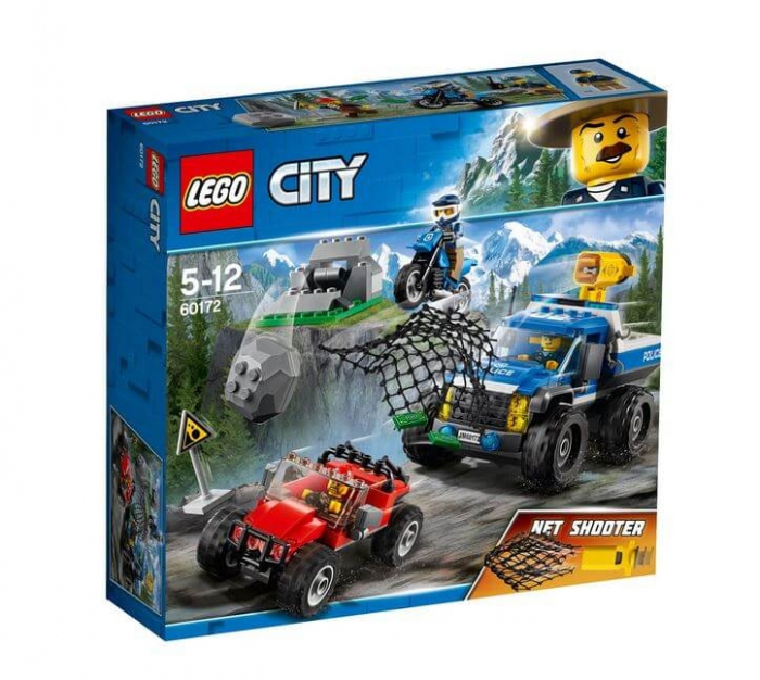 LEGO® City Police Goana pe teren accidentat 60172 0