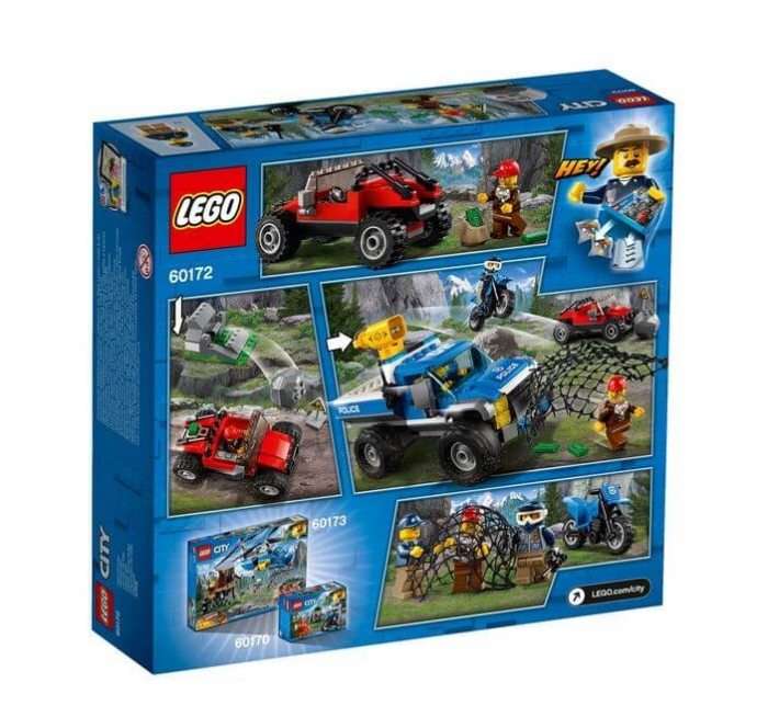 LEGO® City Police Goana pe teren accidentat 60172 3
