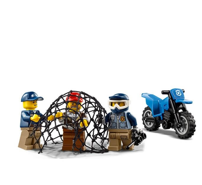 LEGO® City Police Goana pe teren accidentat 60172 5
