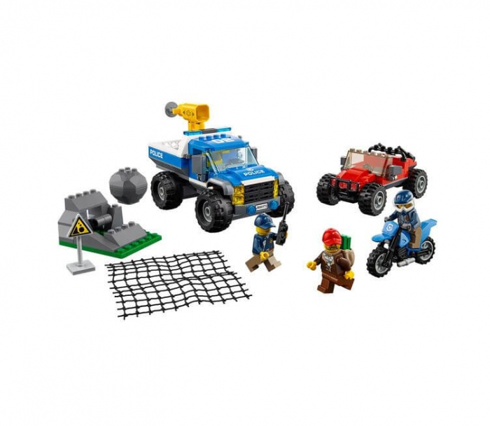 LEGO® City Police Goana pe teren accidentat 60172 2