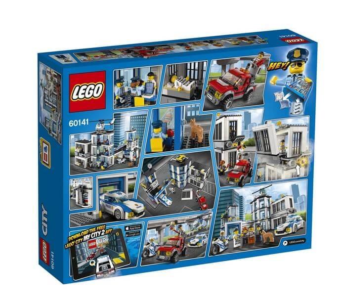 LEGO® City Police Sectie de politie 60141 1