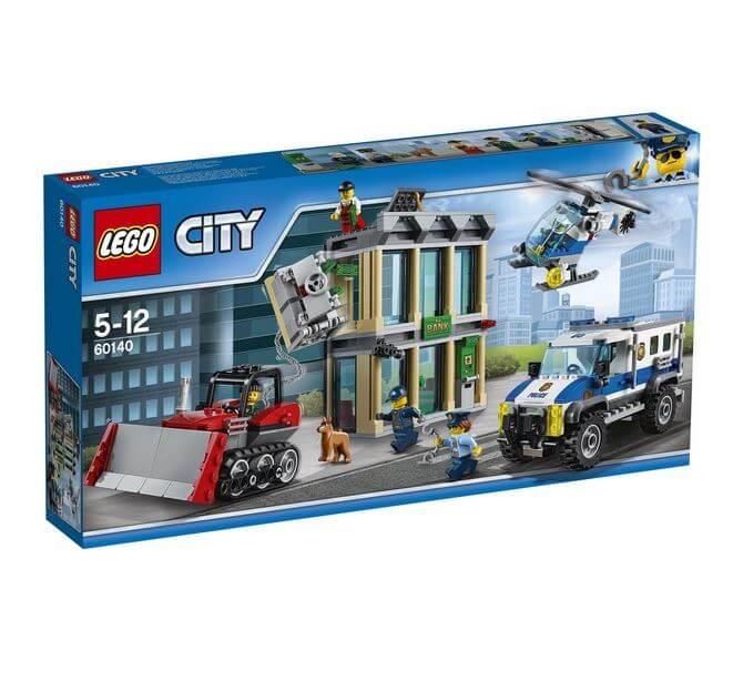 LEGO® City Police Spargere cu buldozerul 60140 [0]