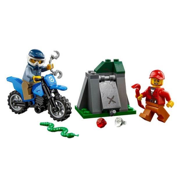 LEGO® City Police Urmarire cu masina de teren 60170 1