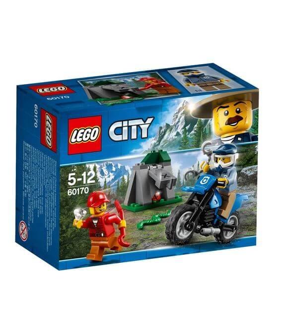 LEGO® City Police Urmarire cu masina de teren 60170 0