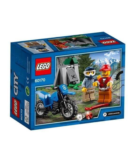 LEGO® City Police Urmarire cu masina de teren 60170 2