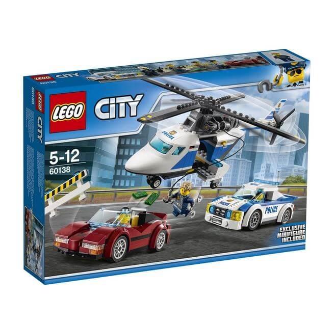 LEGO® City Police Urmarire de mare viteza 60138 0