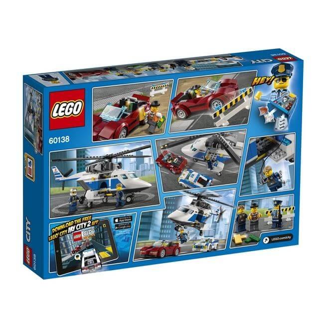 LEGO® City Police Urmarire de mare viteza 60138 1