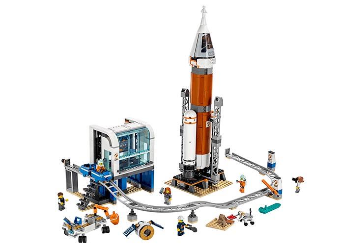 LEGO® City : Racheta pentru spatiul indepartat si Centrul de comanda a lansarii 60228 0