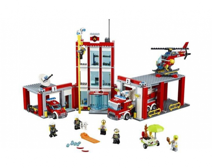 LEGO® City Remiza de pompieri 60110 1