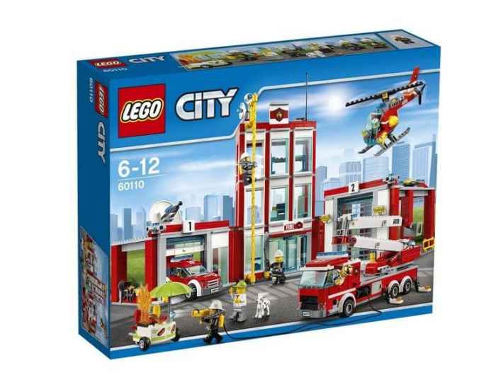 LEGO® City Remiza de pompieri 60110 0