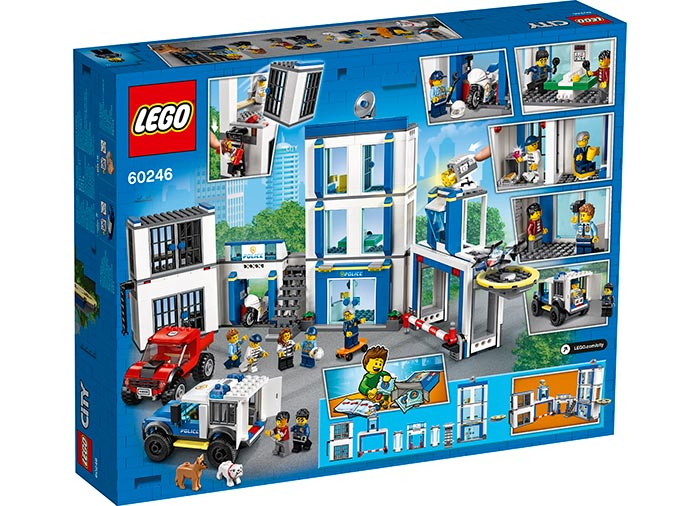 LEGO® City: Sectie de politie 60246 [1]