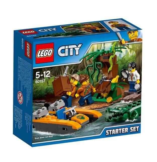 LEGO® City Set de jungla pentru incepatori 60157 [0]