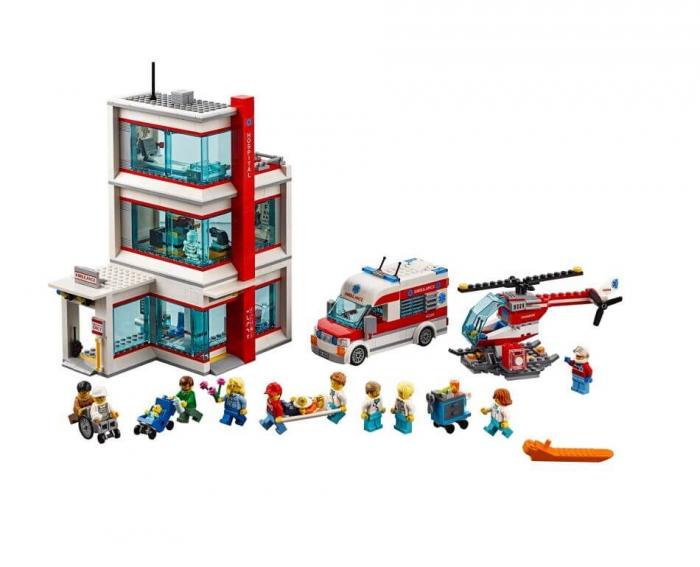 LEGO® City  Spitalul LEGO  City 60204 8