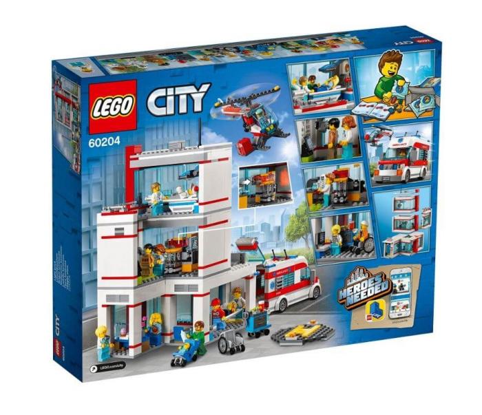 LEGO® City  Spitalul LEGO  City 60204 4