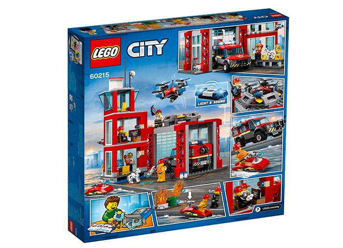 LEGO® City: Stație de pompieri 60215 1