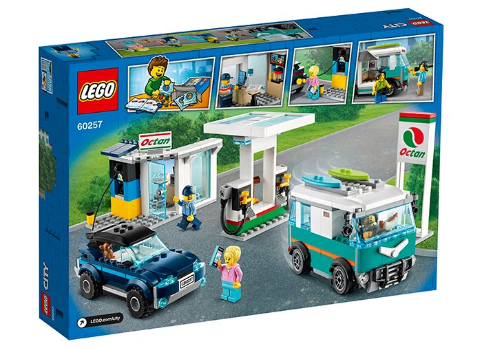 LEGO® City: Statie de service 60257 1
