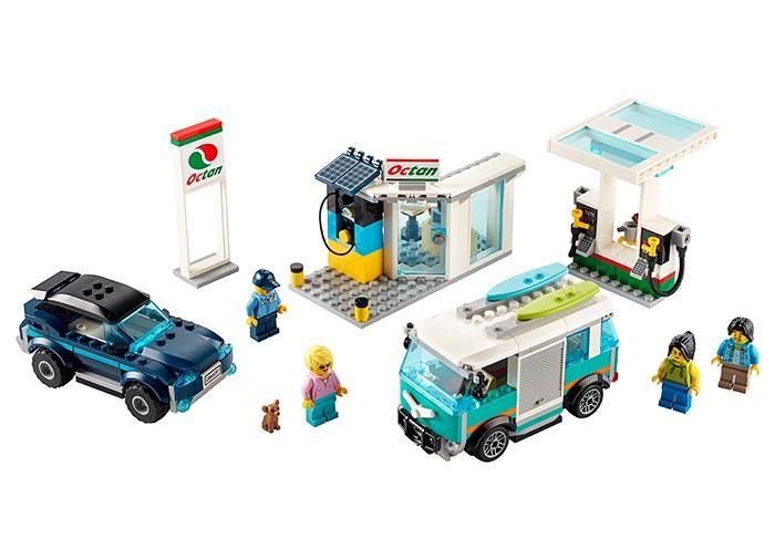 LEGO® City: Statie de service 60257 0