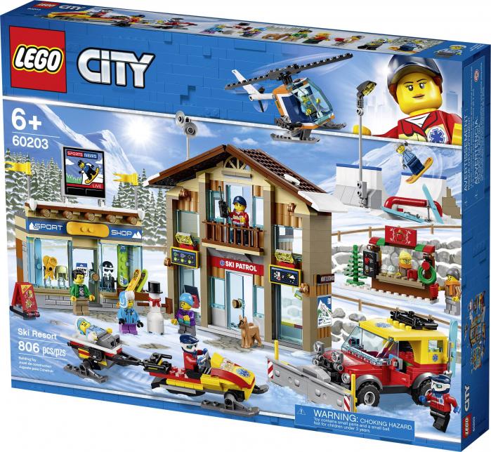 LEGO® City :  Statiunea de schi 60203 0