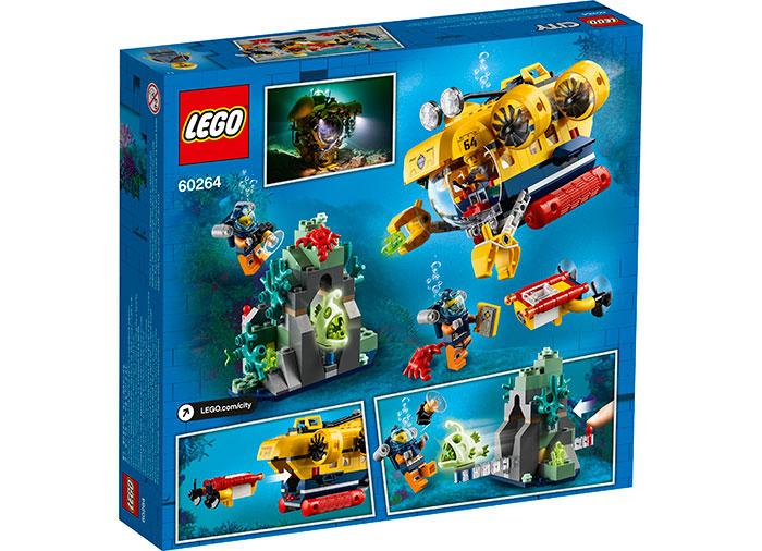 LEGO City - Submarin de explorare a oceanului 60264, 286 piese [1]