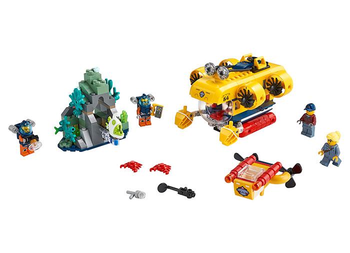 LEGO City - Submarin de explorare a oceanului 60264, 286 piese [0]
