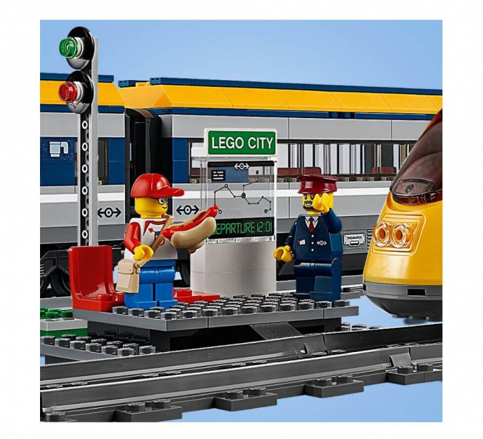 LEGO® City Tren de calatori 60197 2