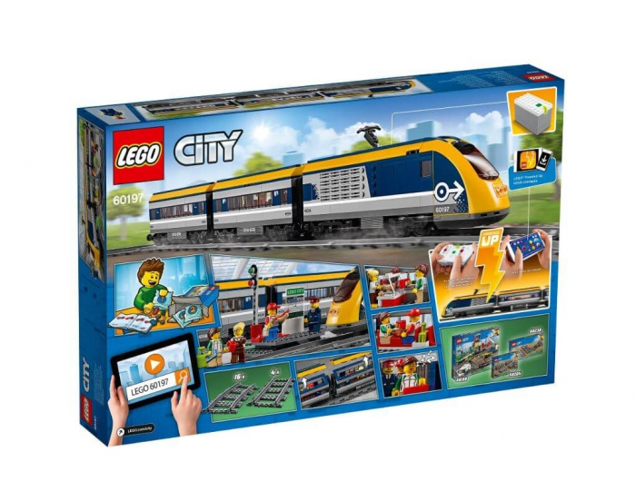 LEGO® City Tren de calatori 60197 4