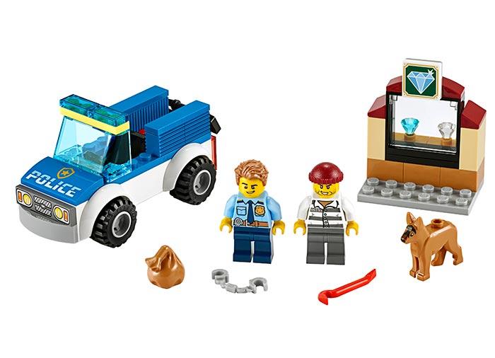 LEGO® City: Unitate de politie canina 60241 0
