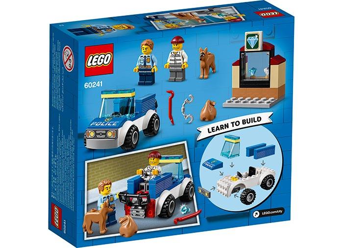 LEGO® City: Unitate de politie canina 60241 1