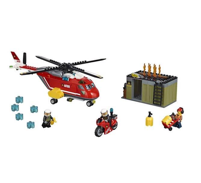 LEGO® City Unitatea de interventie de pompieri 60108 2