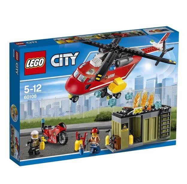 LEGO® City Unitatea de interventie de pompieri 60108 0