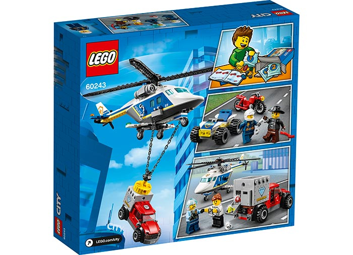 LEGO® City: Urmarire cu elicopterul politiei 60243 [1]