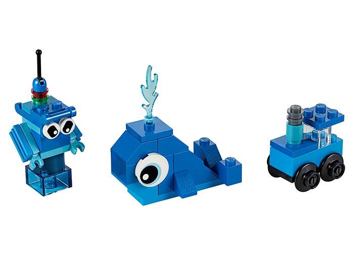 LEGO® Classic: Caramizi creative albastre 11006 0