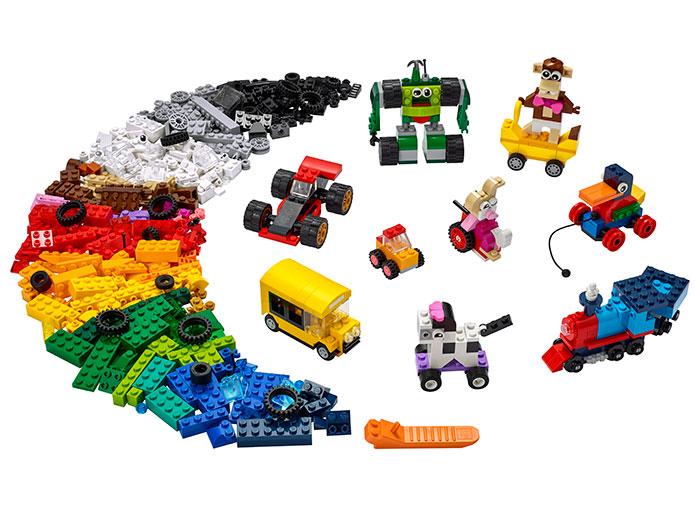 LEGO® Classic: Caramizi si roti 11014 [0]