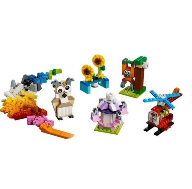 LEGO® Classic Caramizi si roti variate 10712 1