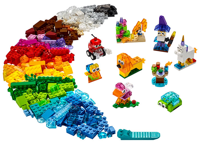 LEGO® Classic: Caramizi transparente 11013 0