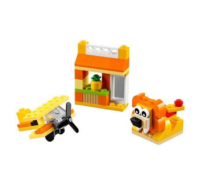 LEGO® Classic Cutie portocalie de creativitate 10709 2